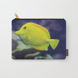 Yellow Tang Fish Carry-All Pouch