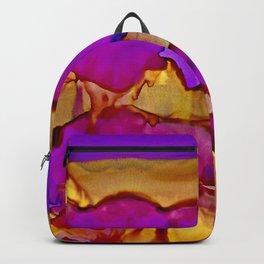 Vistas in Violet and Gold Backpack