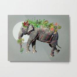 Bestiario: Elefanta Metal Print