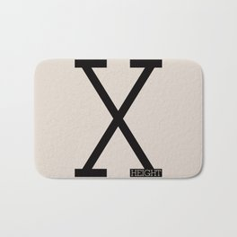 X-Height Bath Mat