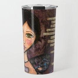 She is Beautiful Travel Mug