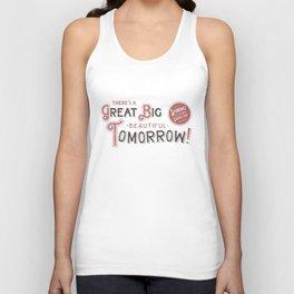 Great Big, Beautiful Tomorrow Unisex Tank Top
