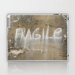 Fragile city Laptop & iPad Skin
