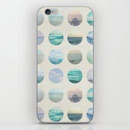 Ocean Polka dot  iPhone Skin