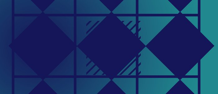 Blue,Diamond Shapes,Square Coffee Mug