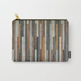 Wood Paneling Carry-All Pouch
