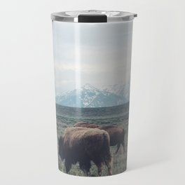 Roaming Buffalo Travel Mug