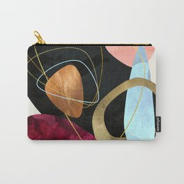 Abstract Pebbles II Carry-All Pouch