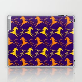Horse Nation Purple Gold Laptop & iPad Skin