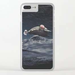 Amor de Ballena Clear iPhone Case