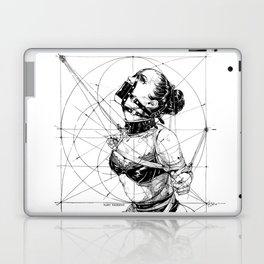 Restrained In Geometry. ©Yury Fadeev Laptop & iPad Skin
