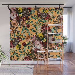 floral ambiance Wall Mural