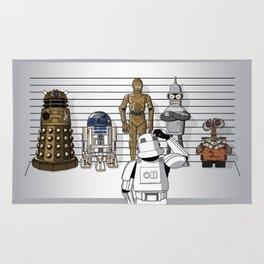 Star Wars Droid Lineup Rug