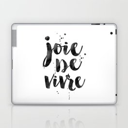 JOIE DE VIVRE, French Decor,French Quote,Dorm Room Decor,Home Decor,Modern Art,Girls Printable,Girls Laptop & iPad Skin