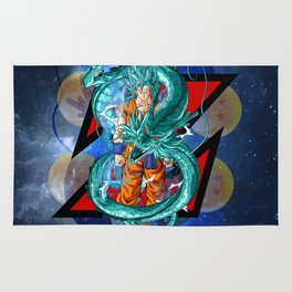 Dragon Ball Super Goku Super Saiyan Blue Rug