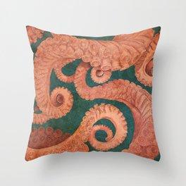 Octopus 1 Throw Pillow