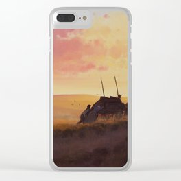 'Faith in Every Footstep' Clear iPhone Case
