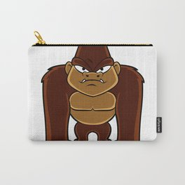 geometric gorilla Carry-All Pouch