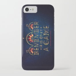Only A Game iPhone Case
