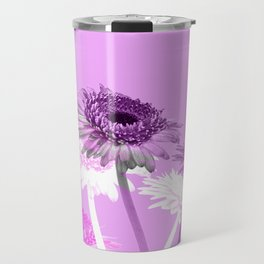 flowers are flowers and pink is the warmest color Travel Mug