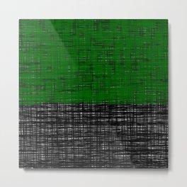 platno (green) Metal Print