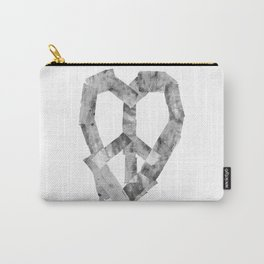 Peace Heart Carry-All Pouch