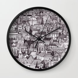 Prague Wall Clock