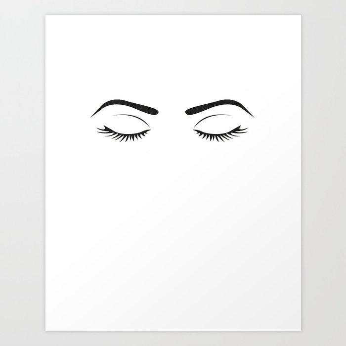 fashion wall art eyebrows on fleek fashion print makeup print makeup