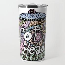 Tea Pot Head Travel Mug