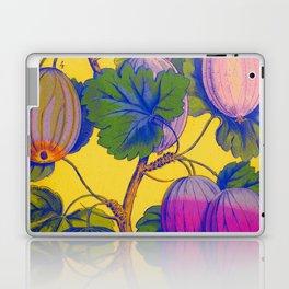 Gooseberries on Yellow Laptop & iPad Skin
