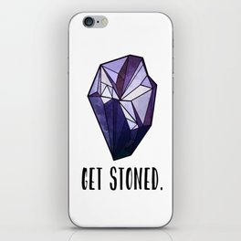 Get Stoned - Amethyst iPhone Skin