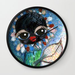 """Waving at you"" Wall Clock"
