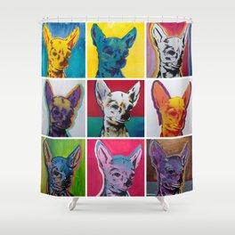 Chihuahuas Shower Curtain