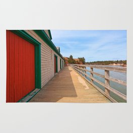 Basin Head Beach Boardwalk Rug