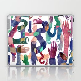 Color Hands Laptop & iPad Skin
