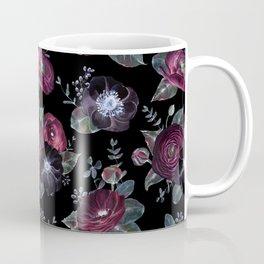 Fantasy Night Rose Red Coffee Mug