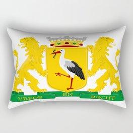 Coat of arms of The Hague Rectangular Pillow
