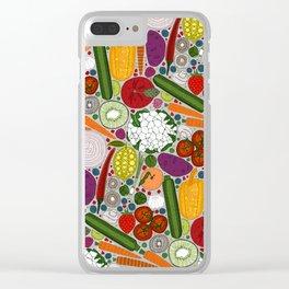 the good stuff tan Clear iPhone Case