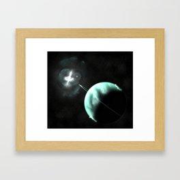 Methuselah Planet Framed Art Print