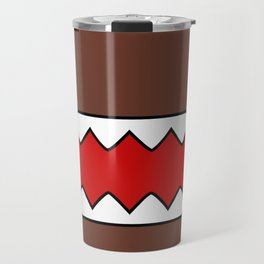 Domo Kun - Brown Japanese Monster Travel Mug