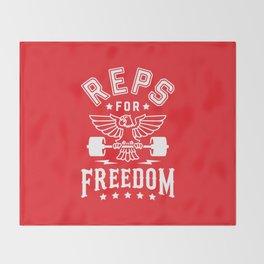 Reps For Freedom v2 Throw Blanket