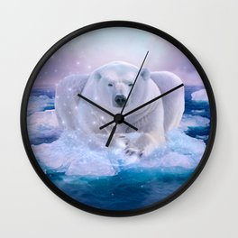 Power Is No Blessing In Itself Wall Clock