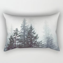 Deep in the Wild - Nature Photography Rectangular Pillow