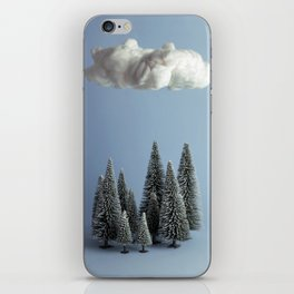 A cloud over the forest iPhone Skin