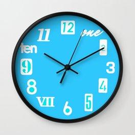 Retweet That Color Wall Clock