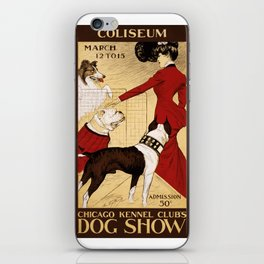 Chicago Kennel Club's Dog Show (1902) iPhone Skin