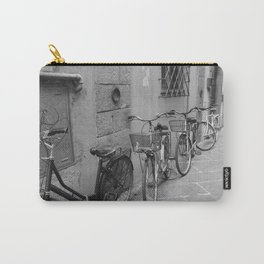 Bicycles in Lucca Carry-All Pouch