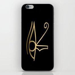 Eye of Horus Egyptian symbol iPhone Skin