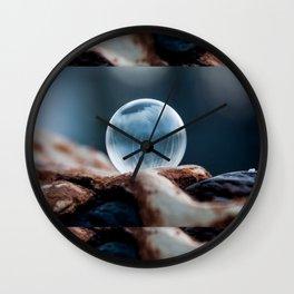 Wooden Hills Wall Clock