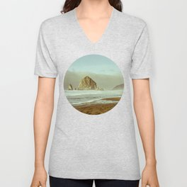 Oregon Coast, A Cannon Beach Dream Unisex V-Neck